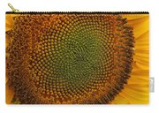Sunflower Closeup Carry-all Pouch