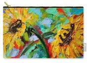 Sunflower Joy Carry-all Pouch