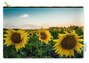 Sister Sunflowers Carry-all Pouch