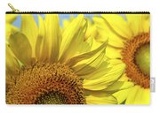 Sunflowers Carry-all Pouch by Elena Elisseeva