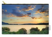 Sunrays At The Lake Carry-all Pouch