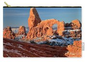 Sunrise At Turret Arch Carry-all Pouch