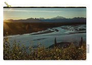 Sunrise On Mnt Denali, Trapper Creek Carry-all Pouch