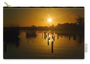 Sunrise On The Bon Secour River Carry-all Pouch