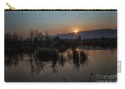 Sunrise Over The Beaver Pond Carry-all Pouch