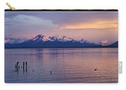 Sunrise Over Ultima Esperanza Carry-all Pouch
