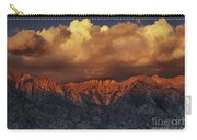 Sunrise Storm Alabama Hills California  Carry-all Pouch