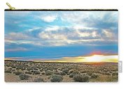 Sunset At Alstrom Point In Glen Canyon National Recreation Area-utah Carry-all Pouch