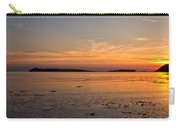 Sunset At Loch Bay Carry-all Pouch