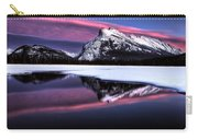 Sunset Mount Rundle Carry-all Pouch