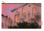 Sunset On Houses Carry-all Pouch by Augusta Stylianou