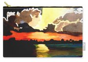 Sunset On The Island Carry-all Pouch