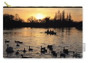 Sunset On The Thames At Walton Carry-all Pouch