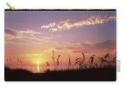 Sunset Over The Sea, Venice Beach Carry-all Pouch