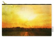 Sunset Road Carry-all Pouch by Brett Pfister