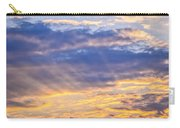 Sunset Sky Carry-all Pouch by Elena Elisseeva