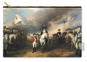 Surrender Of Lord Cornwallis Carry-all Pouch by John Trumbull