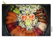 Sushi Party Tray Carry-all Pouch by Elena Elisseeva