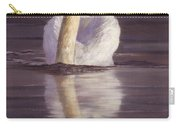 Swan Carry-all Pouch by David Stribbling