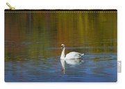 Swan On Wintergreen Lake Carry-all Pouch