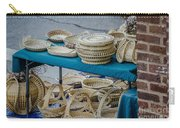 Charleston Sc Sweet Grass Basket Stand Carry-all Pouch