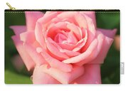 Sweet Pink Rose Carry-all Pouch by Carol Groenen