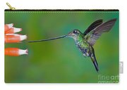 Sword-billed Hummingbird Carry-all Pouch