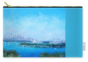 Sydney Harbour And The Opera House Cityscape View Carry-all Pouch