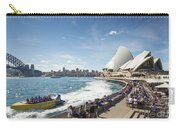 Sydney Harbour In Australia By Day Carry-all Pouch