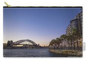 Sydney Harbour In Australia By Night Carry-all Pouch
