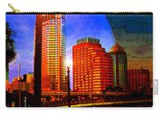 Tampa History In Reflection Carry-all Pouch