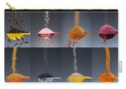 1 Tablespoon Flavor Collage Carry-all Pouch by Steve Gadomski
