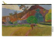 Tahitian Landscape Carry-all Pouch