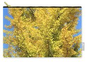 Tall Ginkgo Tree Carry-all Pouch
