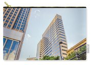Tall Highrise Buildings In Uptown Charlotte Near Blumenthal Perf Carry-all Pouch