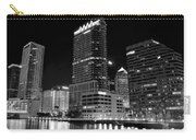 Tampa Black And White  Carry-all Pouch