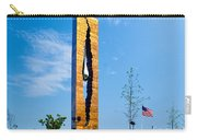 Tear Drop Of Grief Carry-all Pouch by Nick Zelinsky