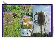 Teasel Thistle - Dipsacus Fullonum Carry-all Pouch
