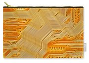 Technology Abstract Background Carry-all Pouch by Michal Boubin
