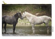 Tender Moments - Wild Horses  Carry-all Pouch