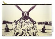 Test Pilots With P-47 Thunderbolt Fighter Carry-all Pouch