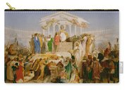The Age Of Augustus The Birth Of Christ Carry-all Pouch