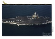 The Aircraft Carrier Uss John C Carry-all Pouch