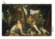 Adam And Eve After The Expulsion From Paradise Carry-all Pouch