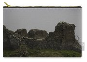 The Battered Remains Of The Urquhart Castle In Scotland Carry-all Pouch