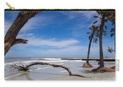 The Beach At Hunting Island State Park Carry-all Pouch