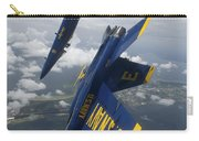 The Blue Angels Perform A Looping Carry-all Pouch