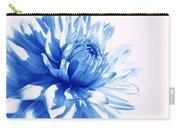 The Blue Dahlia Flower Carry-all Pouch