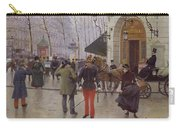 The Boulevard Des Capucines And The Vaudeville Theatre Carry-all Pouch