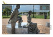 The Catherine And Milton Hershey Statue Carry-all Pouch